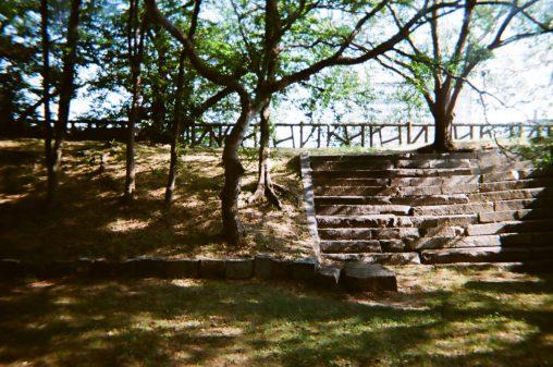 大阪城の土塁 – Earthwork fortification