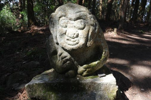 高取城猿石 – Monkey statue at Takatori castle
