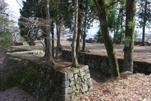 高取城 本丸石垣 – Takatori castle