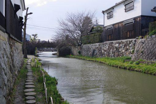 近江八幡城八幡堀 – Hachiman-bori Moat