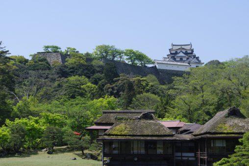 楽々園からの彦根城天守 – Hikone Castle