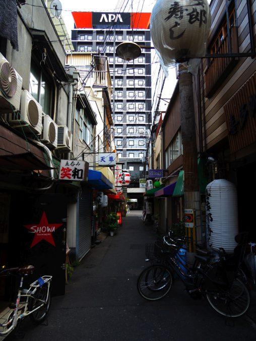 大阪ミナミの裏路地 – Alley in Osaka minami