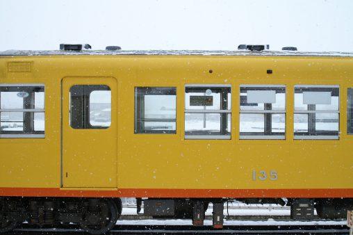 雪の北勢線 – Hokusei line