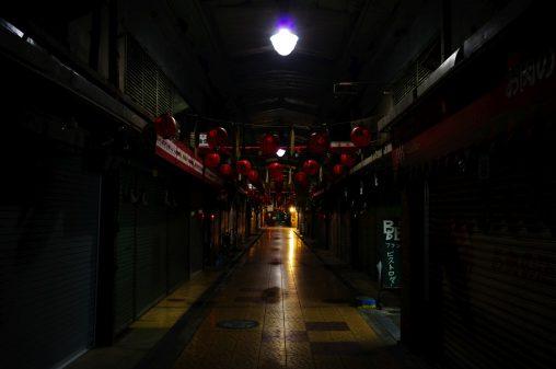 夜の商店街 – Street