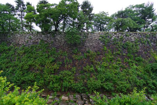 名古屋城本丸石垣 – Stone wall of Nagoya castle