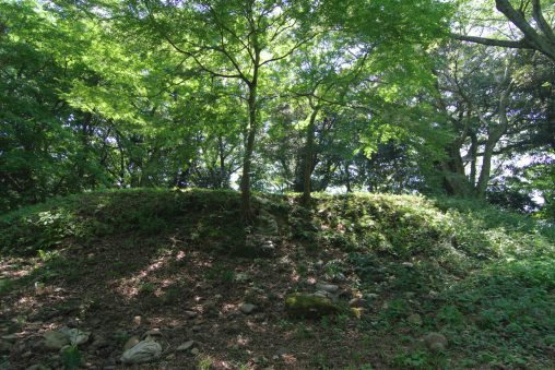 大聖寺城 本丸櫓台 – Main Yagura-dai of Daishoji castle