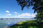 膳所城址からの琵琶湖 – Lake Biwa