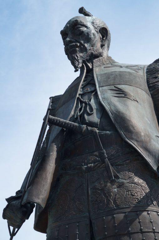豊臣秀吉像 – Statue of Toyotomi Hideyoshi