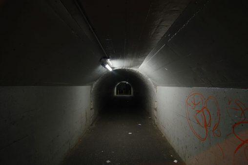 継ぎ足しトンネル – Extended tunnel