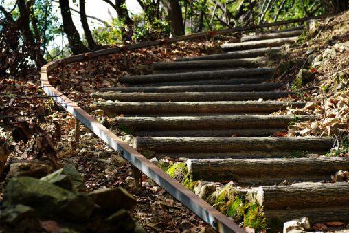 レールと階段 – Rail and Stairs