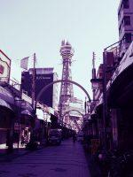 通天閣本通 – Tsutenkaku Tower