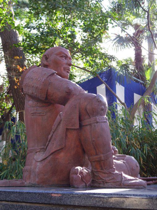 安居神社 真田幸村像 – Statue of Sanada Yukimura