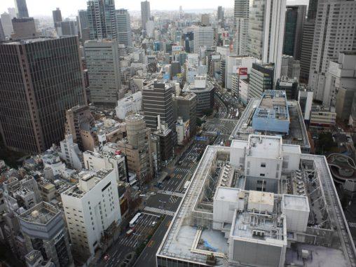 大阪市街地展望 – Osaka city