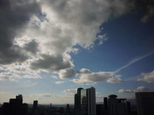 大阪市街地の空 – Osaka Sky view