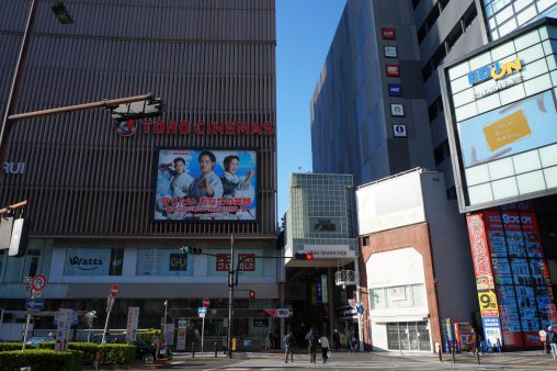 外出自粛中の難波駅前 – Namba, Apr. 2020
