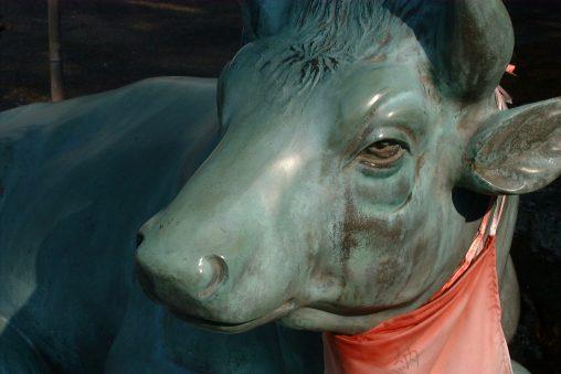 天満宮の牛 – Bronze Bull