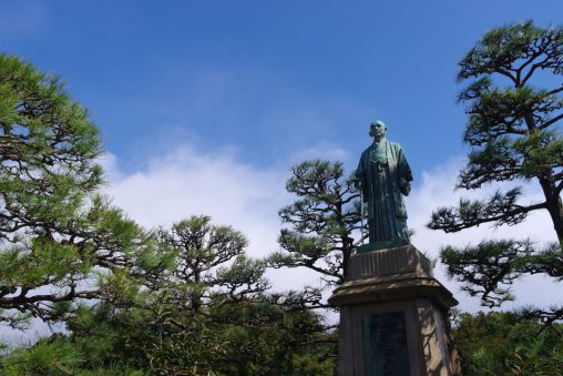 中部幾次郎像 – Statue of Nakabe Ikujiro