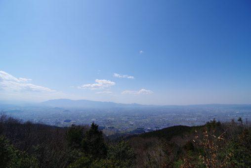 奈良盆地(龍王山城跡より) – Nara Basin Landscape