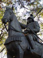 津城 藤堂高虎公像 – Statue of Todo Takatora