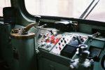 阪堺電車の運転席 – Tram control panel