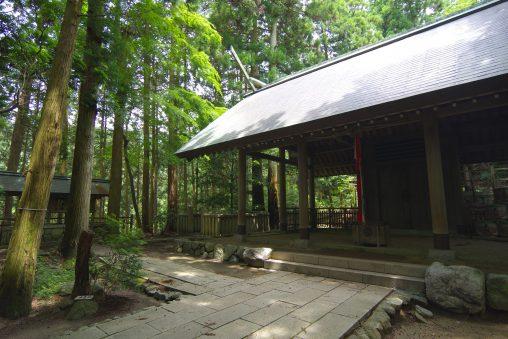千早神社本殿 – Chihaya shrine