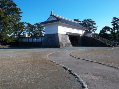 小田原城銅門 – Akagane gate of Odawara castle