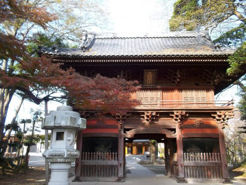 弘法寺山門 – Gate of Kobo-ji temple