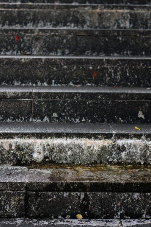 石段 – Stone stairs