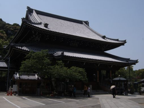水間寺本堂 – Main hall of Mizuma Temple