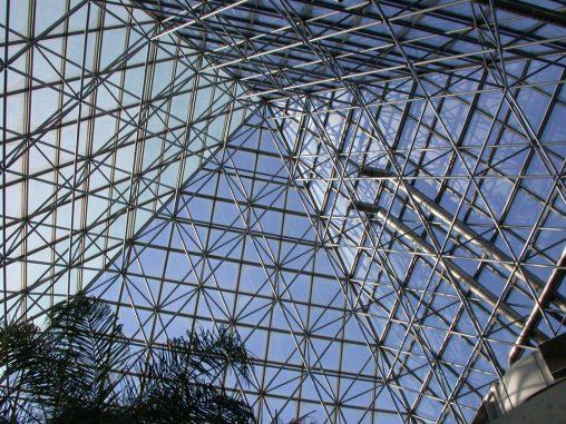 天王寺公園植物温室の屋根 – Roof of Tennoji park Greenhouse