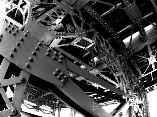魚眼と鉄骨 – Steel Structure
