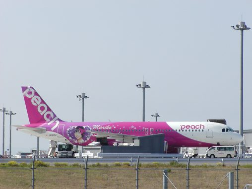 MARIKO JET (ピーチ エアバスA320) – Peach Aviation Airbus A320