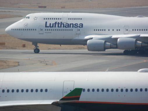 ルフトハンザ ボーイング747-400 – Lufthansa Boeing 747-400