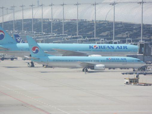 大韓航空ボーイング777-200 & 737-900 – Korean Air Boeing 777-200 & 737-900