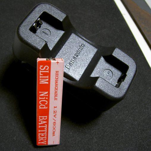 ガム電池と充電器 – Gumstick battery