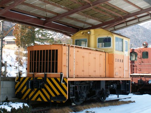 三岐通運DB25号機 – Sangi Tuuun DB25 Electric Locomotive