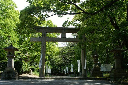 和歌山県護国神社大鳥居 – Torii of Wakayama Pref. Gokoku shrine