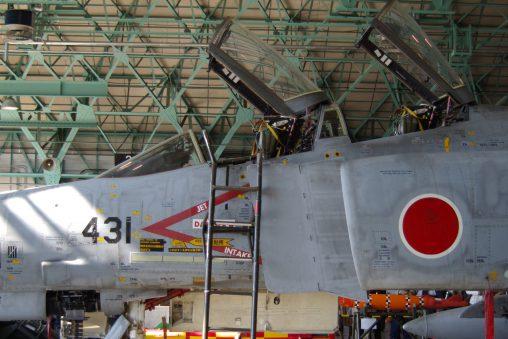 McDonnel F-4EJ #431 in Hanger