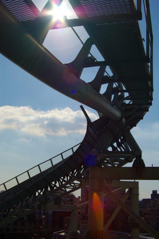 天に昇る – Old roller coaster