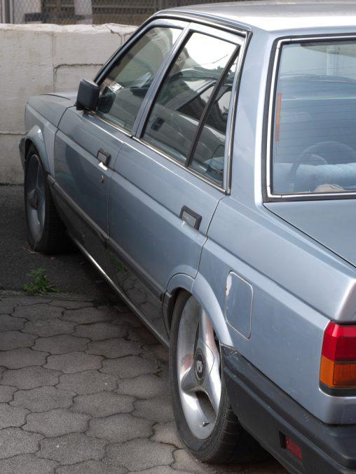 放置車 – Ruined car