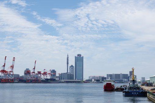 大阪築港から南港を見る – Osaka Port