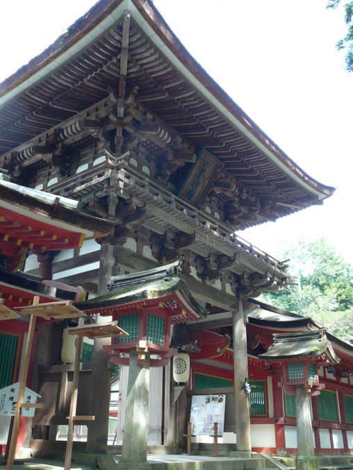 石上神宮(2枚) – Isonokami Shrine (2 pics)