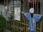 杣之内木堂の案山子(3枚) – Funny Scarecrows (3 pics)