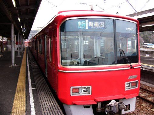名鉄3700系電車 – Meitetsu 3700 series train