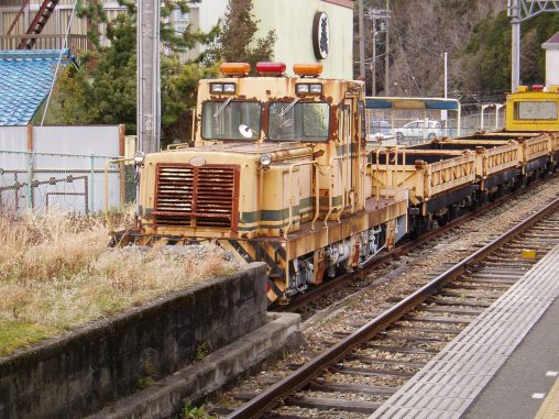 マツヤマ軌道モータカーMR1526 – Matsuyama Railroad Speeder MR1526