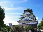 大阪城(2枚) – Osaka Castle Main Tower (2 pics)