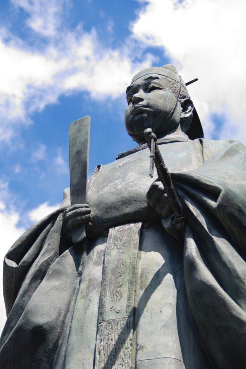 豊臣秀頼像 – Statue of Toyotomi, Hideyori