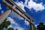 空に鳥居 – Torii and Sky